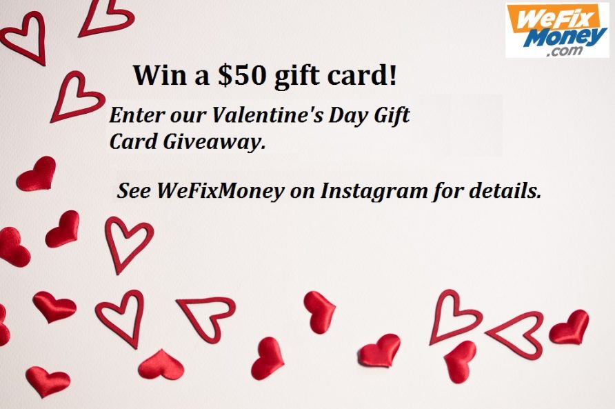 Valentine's Day Contest | Gift Card Giveaway 2019
